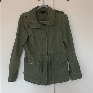 Forever 21 green army utility jacket